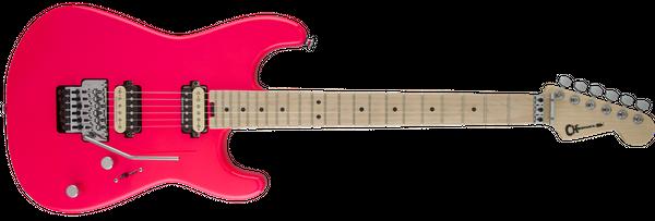 charvel-san-dimas-style-1-neon-pink