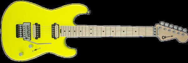 charvel-san-dimas-style-1-neon-yellow